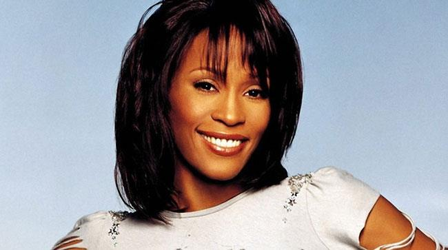 Primo piano di Whitney Houston