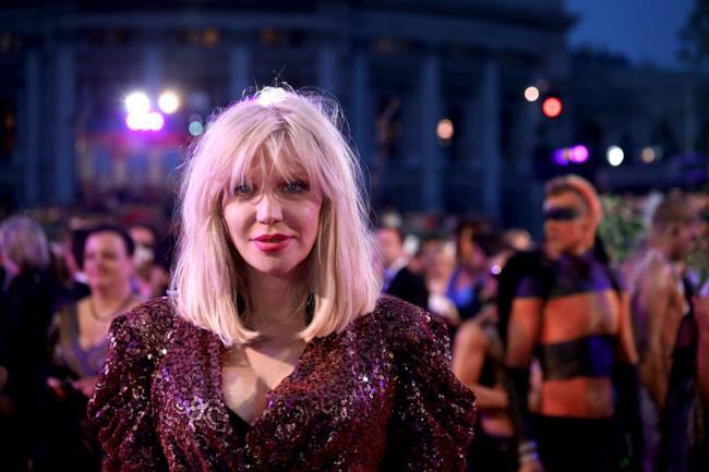 Courtney Love al Life Ball nel 2014