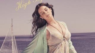 Lana Del Rey sulla copertina di High By The Beach