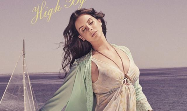 Lana Del Rey sulla copertina di High By The Beach