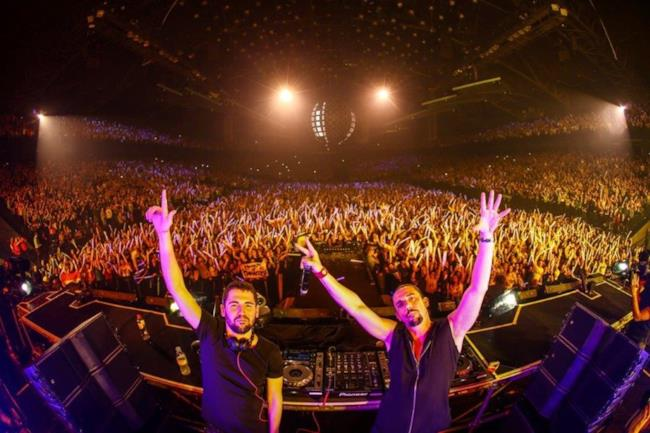 Dimitri Vegas & Like Mike ad Antwerp