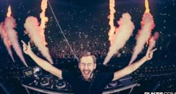 Calvin Harris sullo stage dell'EDC 2015