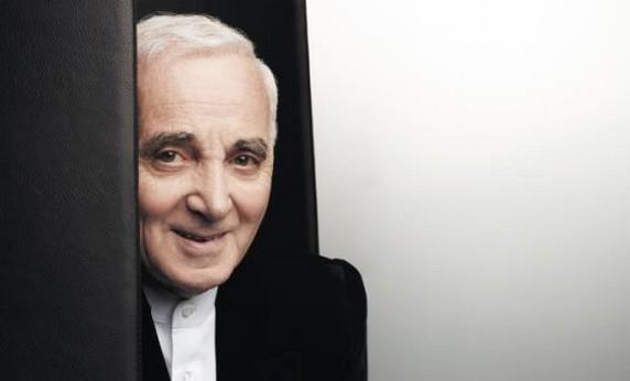 Il cantautore francese Charles Aznavour