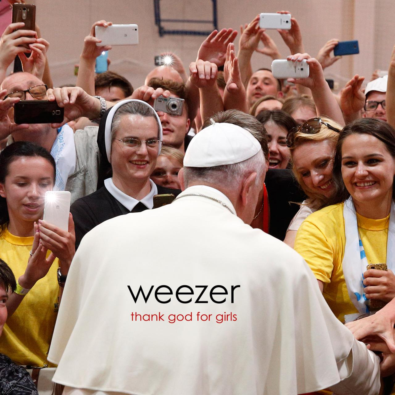Copertina di Thank God For Girls, l'ultimo singolo dei Weezer