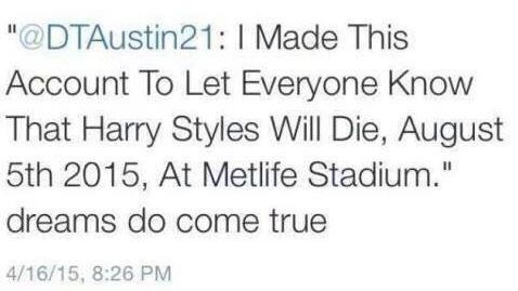 Le minacce di morte che ha ricevuto Harry Styles su Twitter