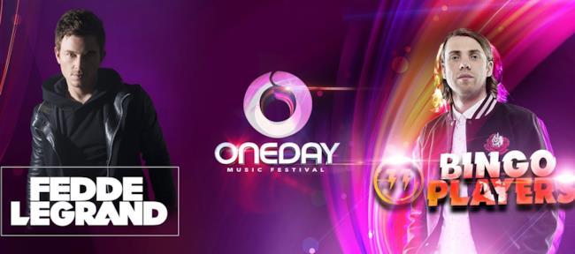 Fedde Le Grand e Bingo Player saliranno sul palco del OneDay Music Festival il 30 aprile a Vicenza