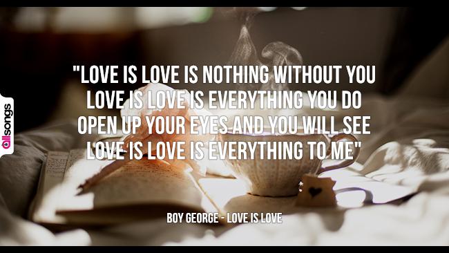 Boy George: le migliori frasi dei testi delle canzoni