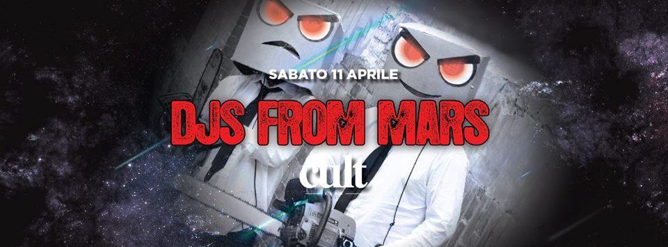 DJs From mars @ Cult Club