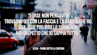Elisa: le migliori frasi delle canzoni