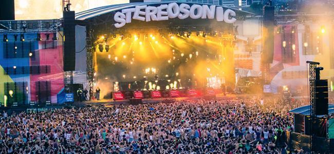 Il palco dello Stereosonic Festival
