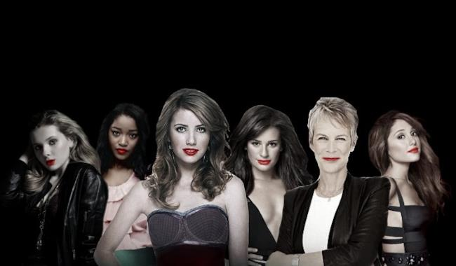 Scream Queens poster serie tv 2015