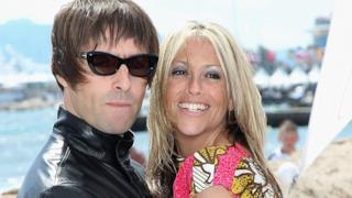 Liam Gallagher con la moglie Nicole Appleton