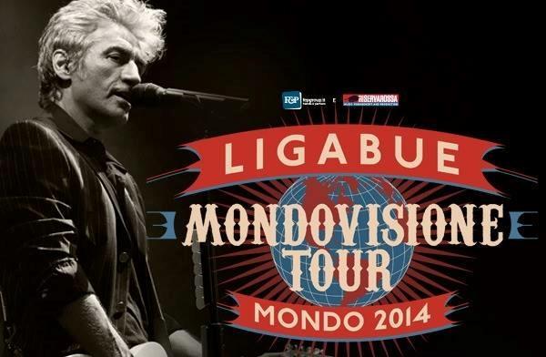 Ligabue: il Mondovisione Tour Mondo 2014
