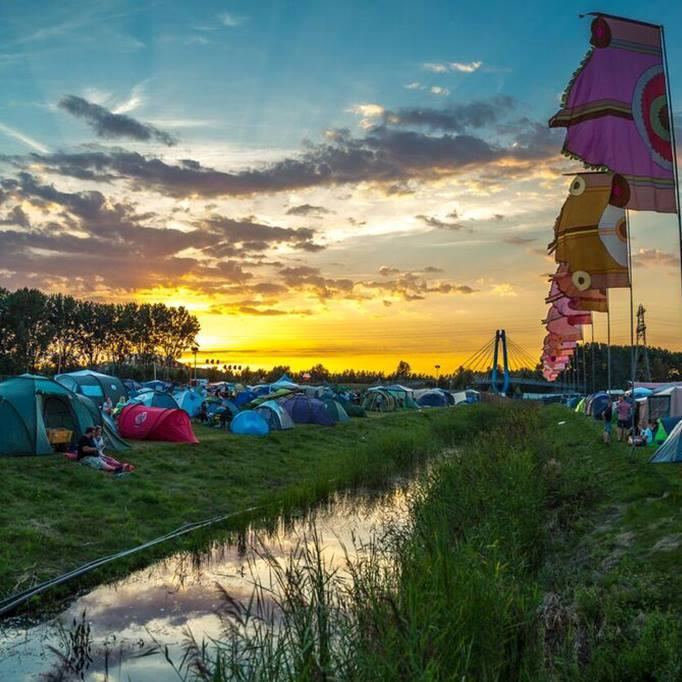 Il Camping del Mysteryland 2016