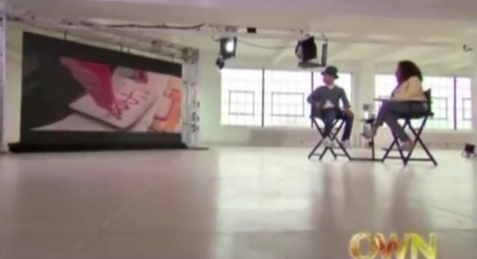Il video di Pharrell che piange da Oprah Winfrey