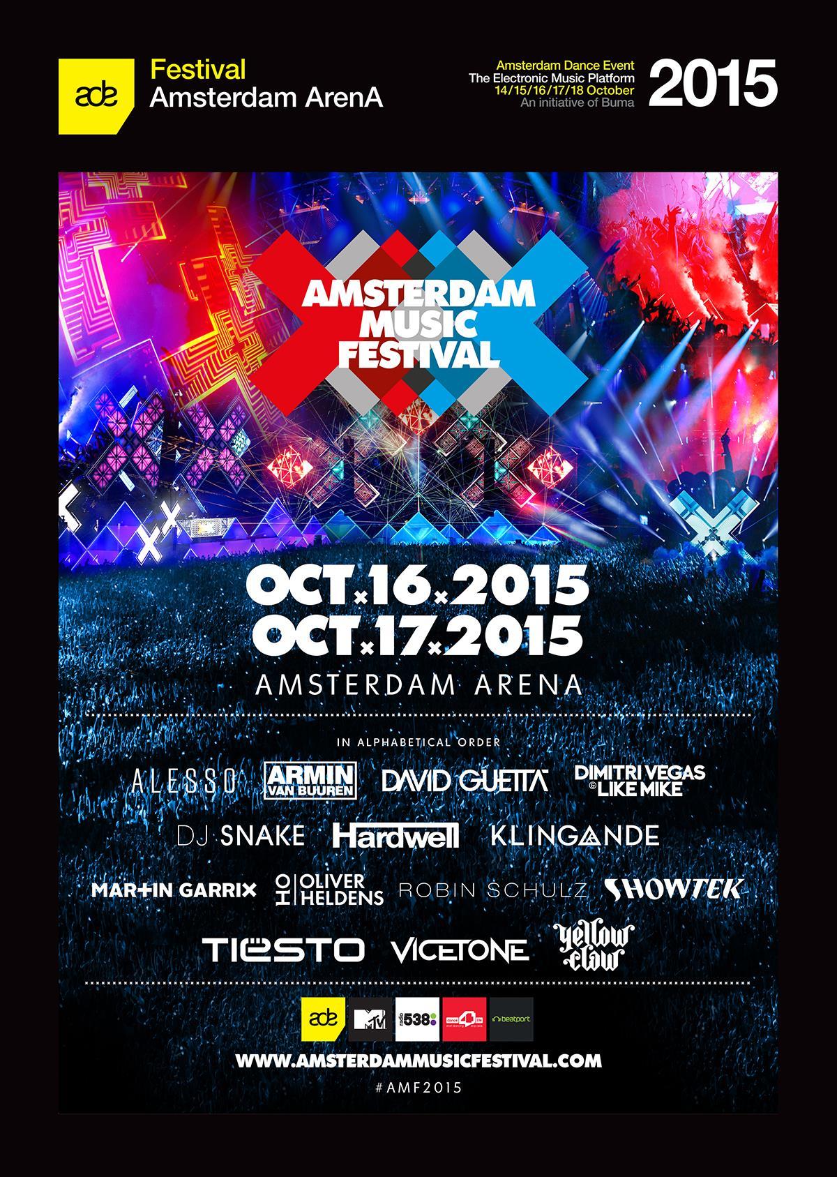 Amsterdam Music Festival Lineup