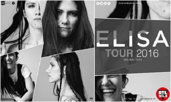 Poster di #ElisaTour