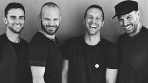 I 4 membri dei Coldplay tutti insieme