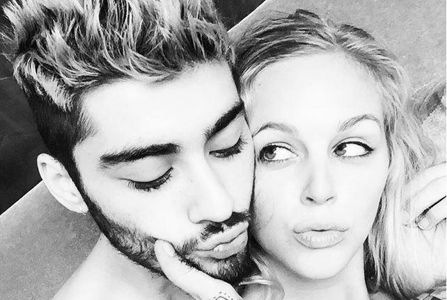 Zayn Malik foto su Instagram con una biondina