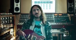 John Frusciante in studio