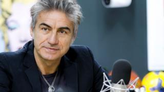 Luciano Ligabue a Radio Deejay