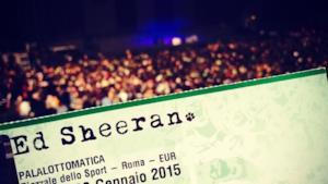 Ed Sheeran - @Palalottomatica / Roma