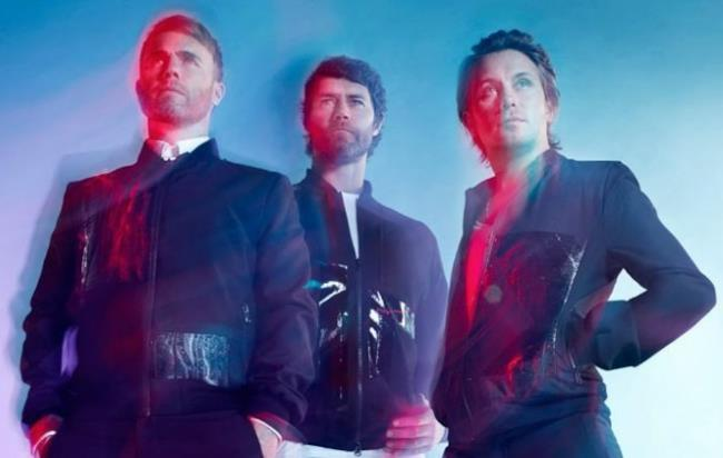 I 3 Take That Mark Owen, Gary Barlow e Howard Donald