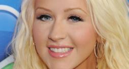 Primo piano di Christina Aguilera