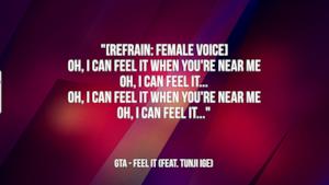 GTA: le migliori frasi dei testi delle canzoni