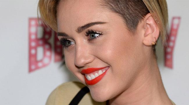 Primo piano di Miley Cyrus
