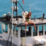 Rihanna sulla barca