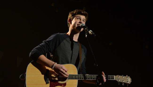 L'artista canadese Shawn Mendes