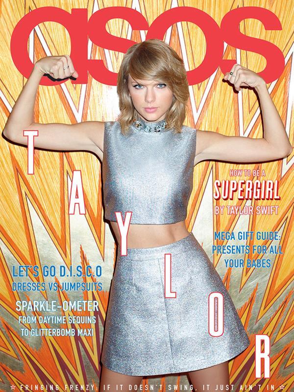 Taylor Swift sulla copertina di ASOS magazine