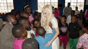 Lady Gaga in Sudafrica [FOTO]