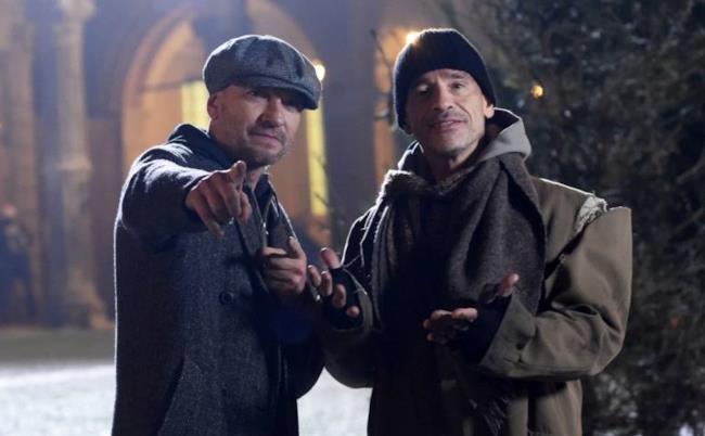 Eros Ramazzotti e Biagio Antonacci nel video di Buon Natale (se vuoi)