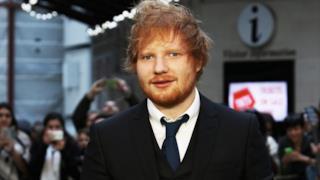 La giovane star inglese, Edward Sheeran