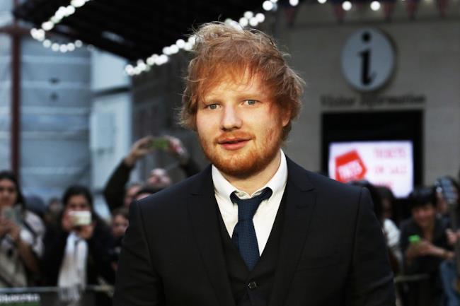 La giovane star inglese, Edward Sheeran