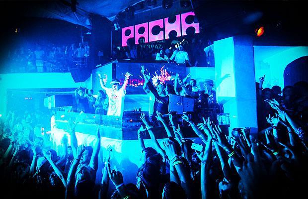 Lo storico club Pacha ad Ibiza