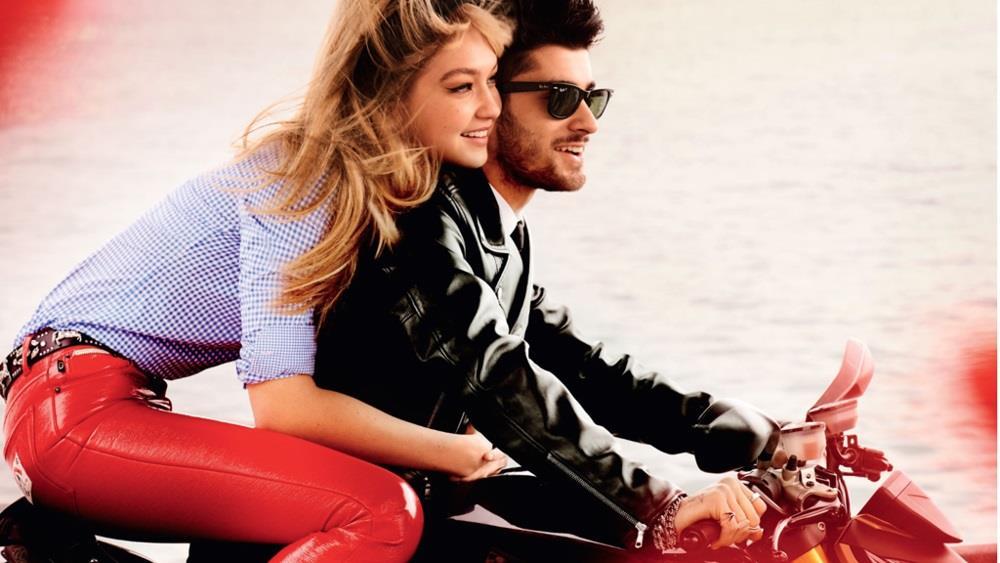 Gigi e Zayn se la spassano in moto