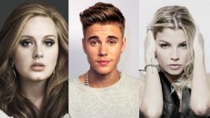Adele, Justin Bieber ed Emma Marrone