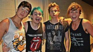 I quattro componenti dei 5 Seconds Of Summer