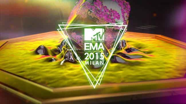Logo MTV EMA 2015 live da Milano