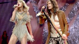 Taylor Swift e Steven Tyler