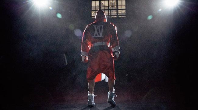 Un'immagine dal video di Guts Over Fear