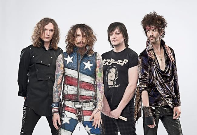 La band britannica The Darkness