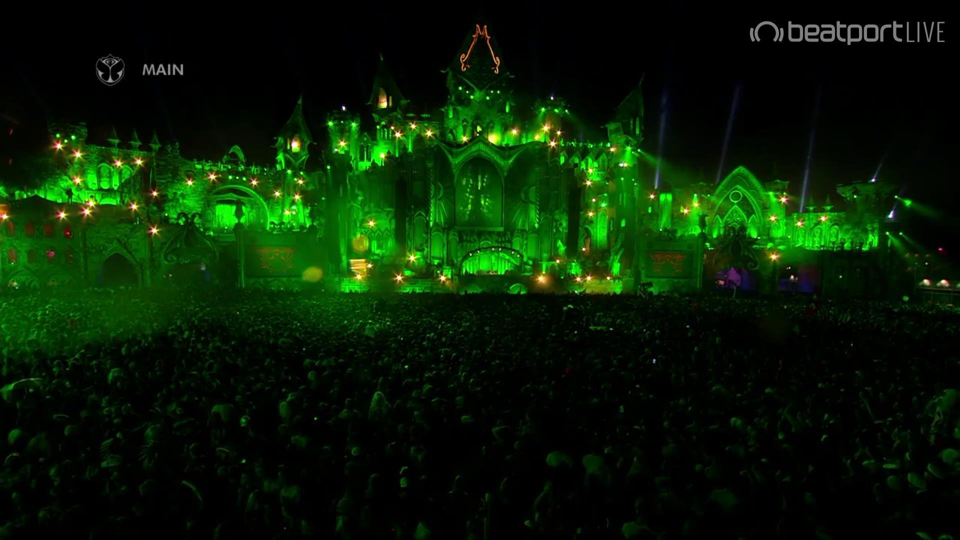 Avicii sul mainstage del Tomorrowland 2015