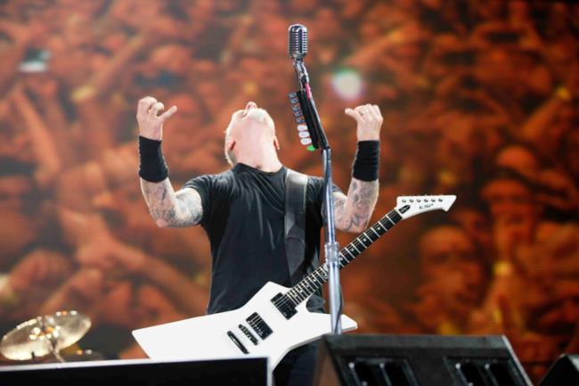 James Hetfield dei Metallica