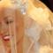 Christina Aguilera in abito da sposa
