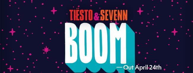 Tiësto & Sevenn nella nuova release Boom Boom Boom