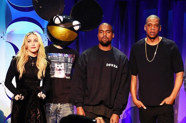 Deadmau5 è salito sul palco durante la presentazione di TIDAL insieme a Madonna e Kanye West
